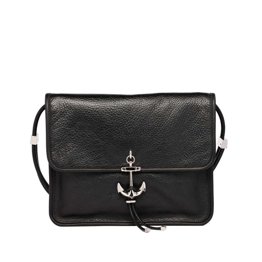 Balenciaga Black Buffalo Ancre Handbag