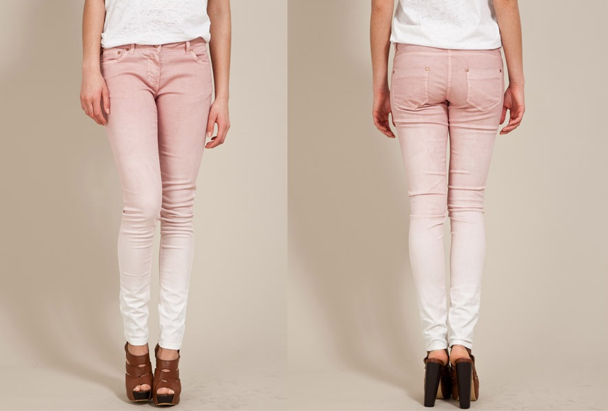 Republic Pink Ombre Jeans