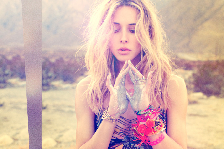 Foam Magazine - Planet Blue festival editorial featuring Gillian Zinser