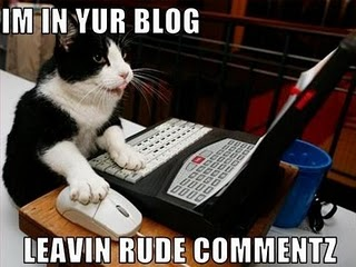 Lolcats blog comments