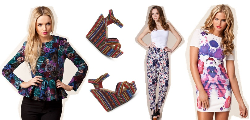 Spring/Summer trends with Nelly.com - prints