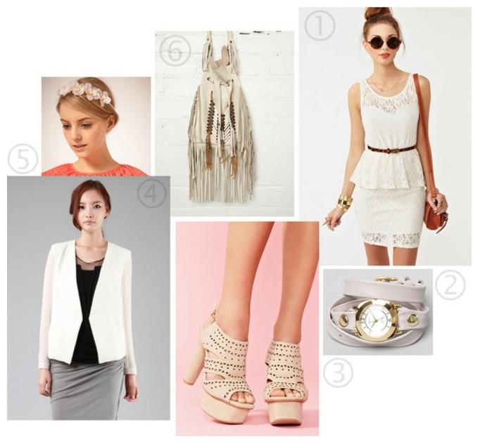 Spring/summer whites