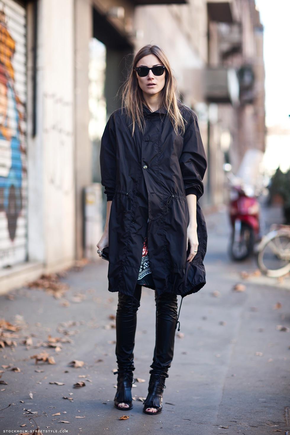 Parka coat - Stockholm Streetstyle