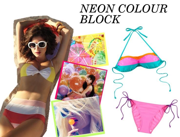 Swimwear Trends 2012 - Neon