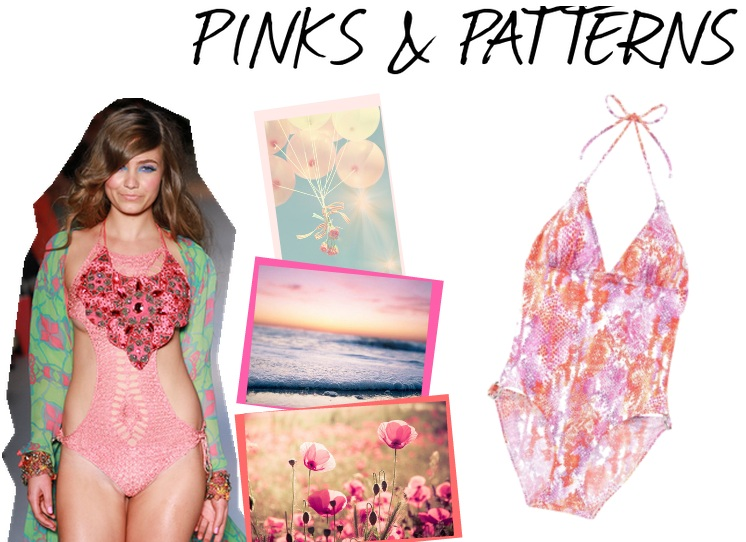 Swimwear Trends 2012 - Pinks and Patterns