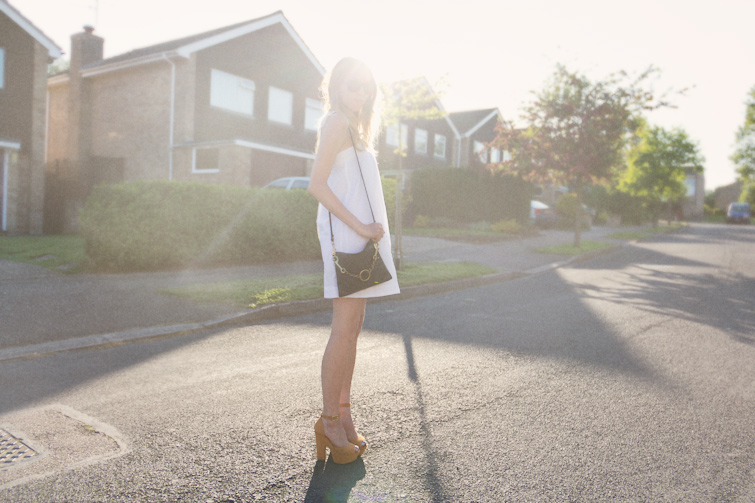 Styling a white dress