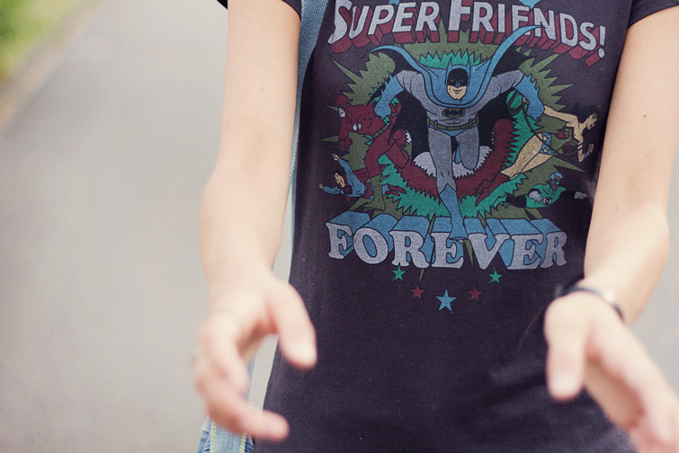 Superhero t-shirt from Junk Food