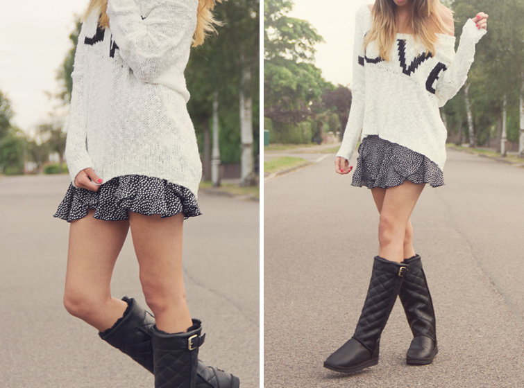 Styling UGG style boots