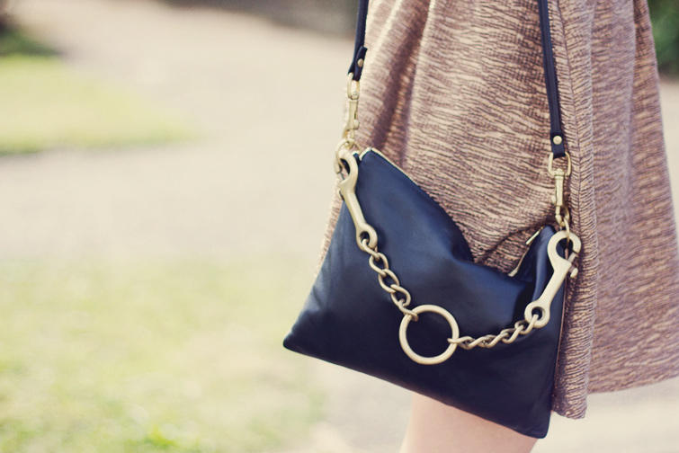 A.L.L. reversible chain bag