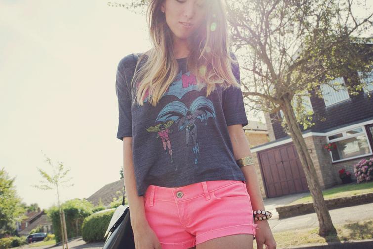 Batman t shirt for girls