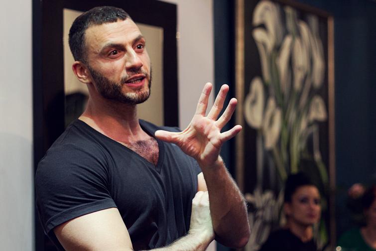 Daniel Mikhael hairdresser