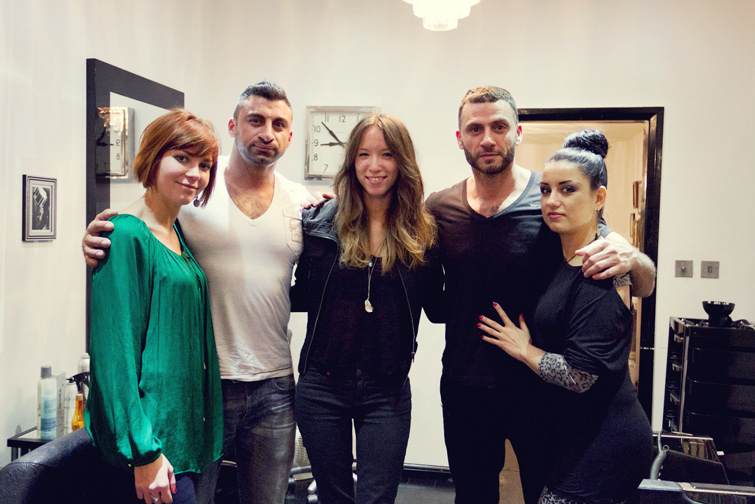 Daniel Mikhael salon team