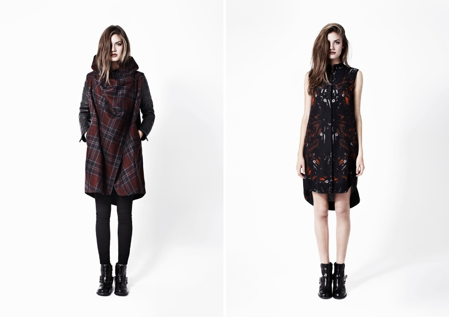 AllSaints AW12 lookbook