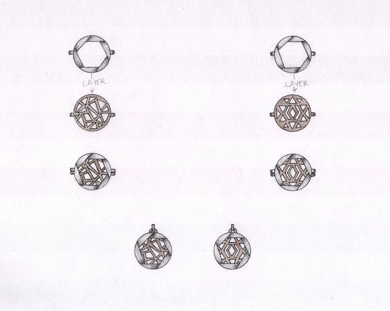 Girl in the Lens X Mei-Li Rose jewellery design