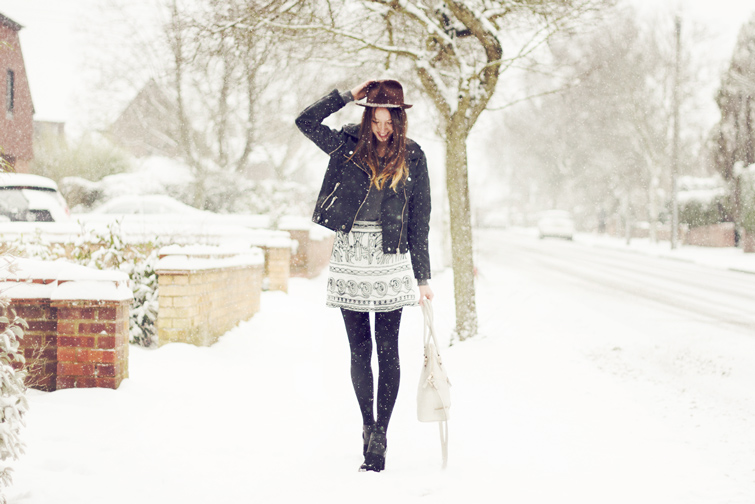 Snow fashion photos