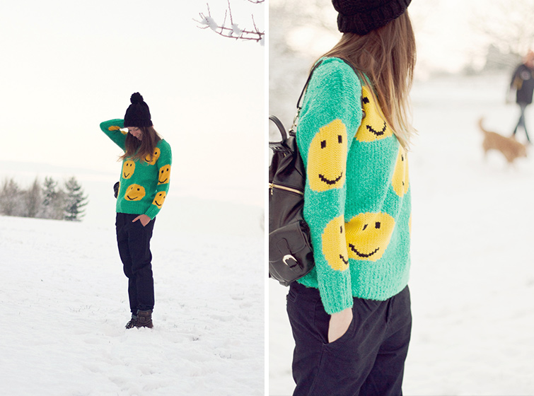 Smiley face jumper