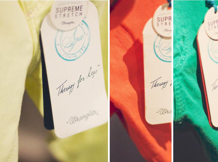 Wrangler Denim Spa summer collection