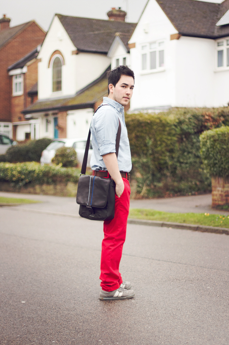 Male UK fashion blogger