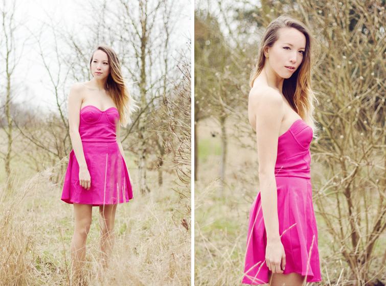 Lipsy bandeau dress