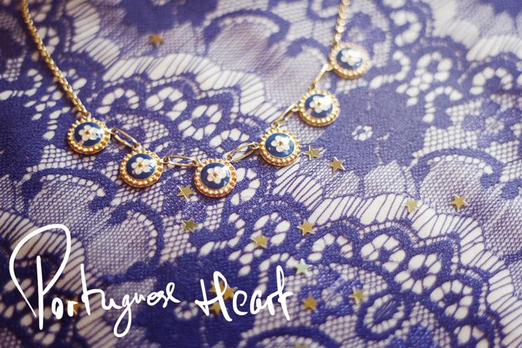 Portuguese Heart jewellery