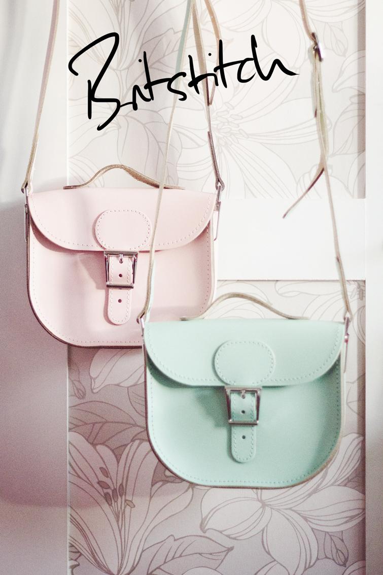Britstitch pastel satchels
