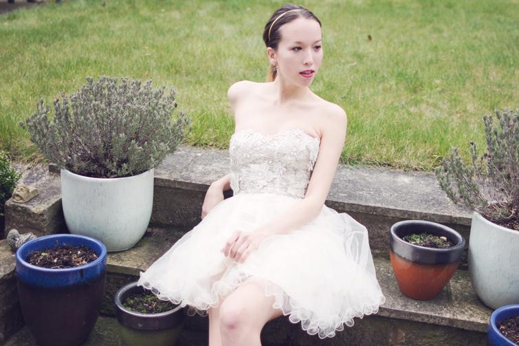 Ballerina prom dress