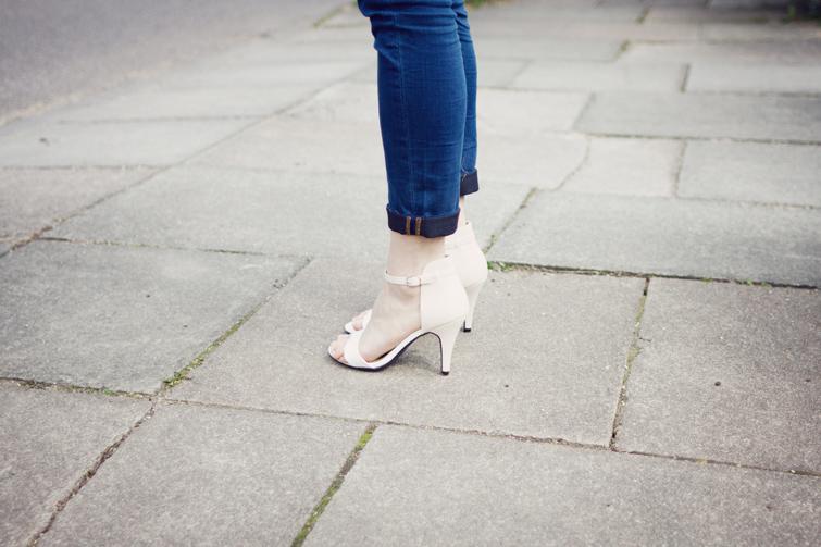 Ankle strap heels Zara lookalikes