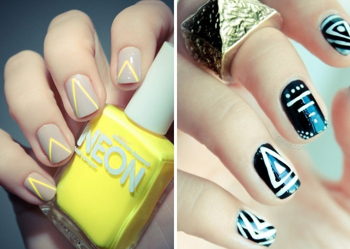 Nail art patterns tutorials
