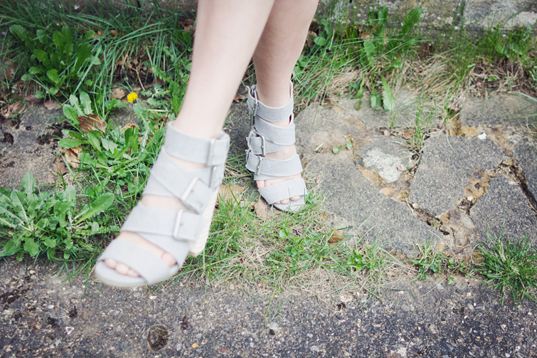 Bandage shoes sandals Topshop