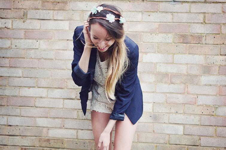 Blue blazer outfit ideas