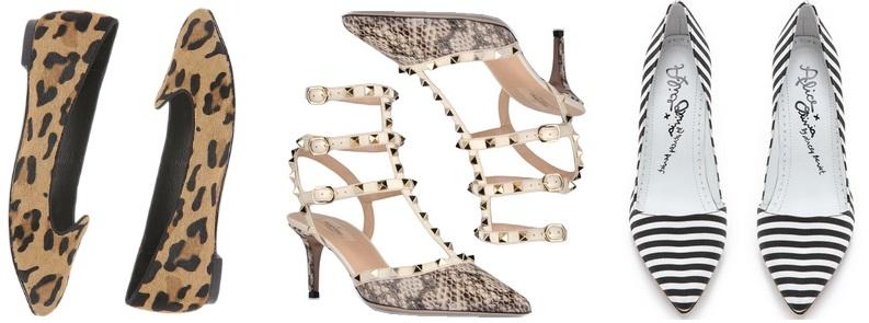Print shoes - Steve Madden, Valentino, Alice + Olivia