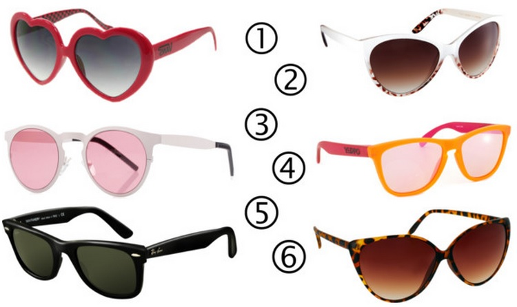 SS13 sunglasses wishlist
