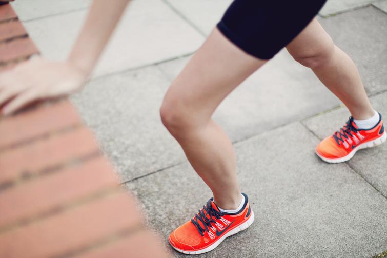 Nike free run trainers