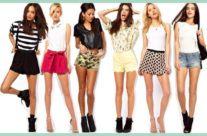 Top summer shorts 2013 ASOS