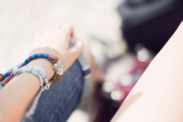 Bimba and Lola festival bracelet