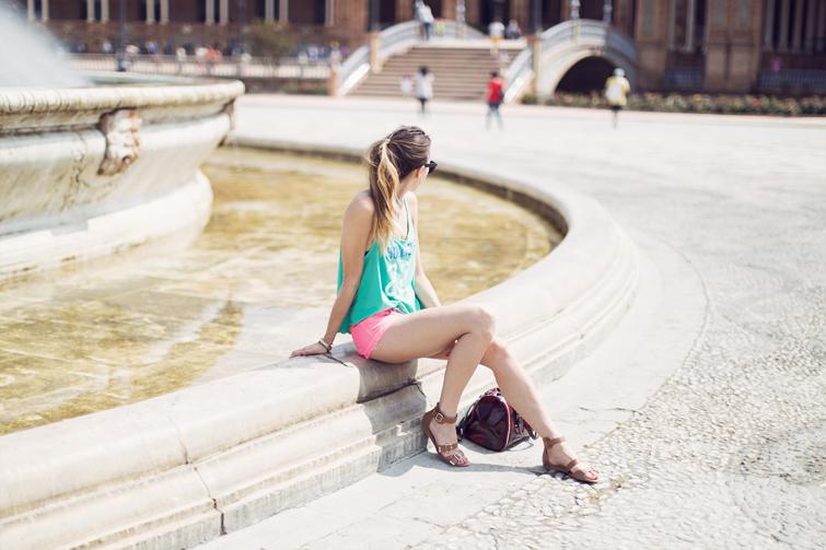Plaza de Espana Seville pictures