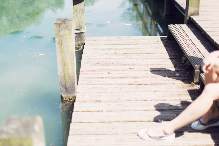 Boating shoe flats