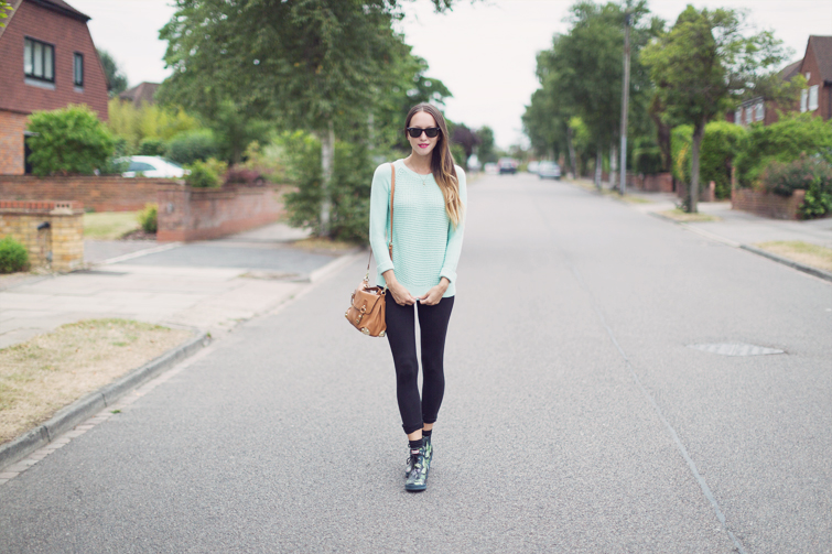Mint sweater Topshop