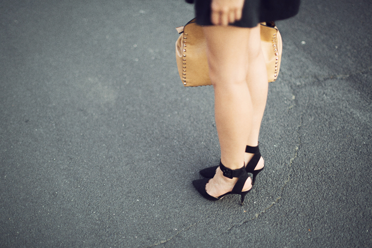 Zara cut out ankle strap heels