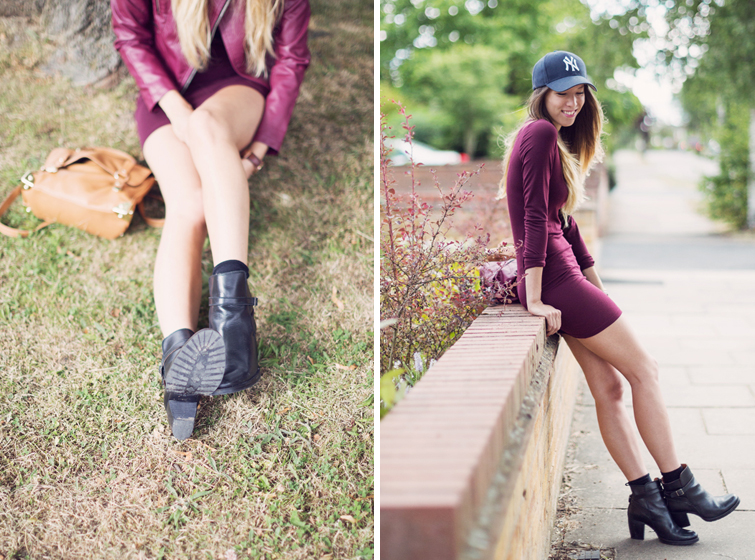 Bodycon dress casual daytime outfits