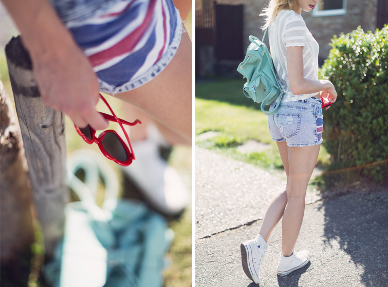 Denim shorts Converse outfits
