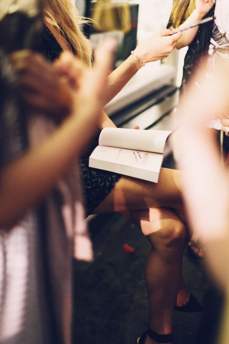 Natasha Ngan signing books