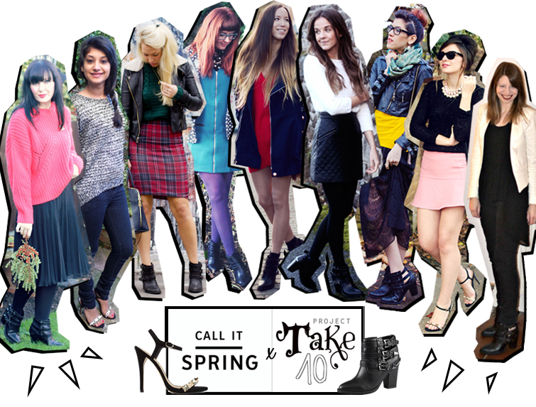Take 10 bloggers style Call it Spring shoes