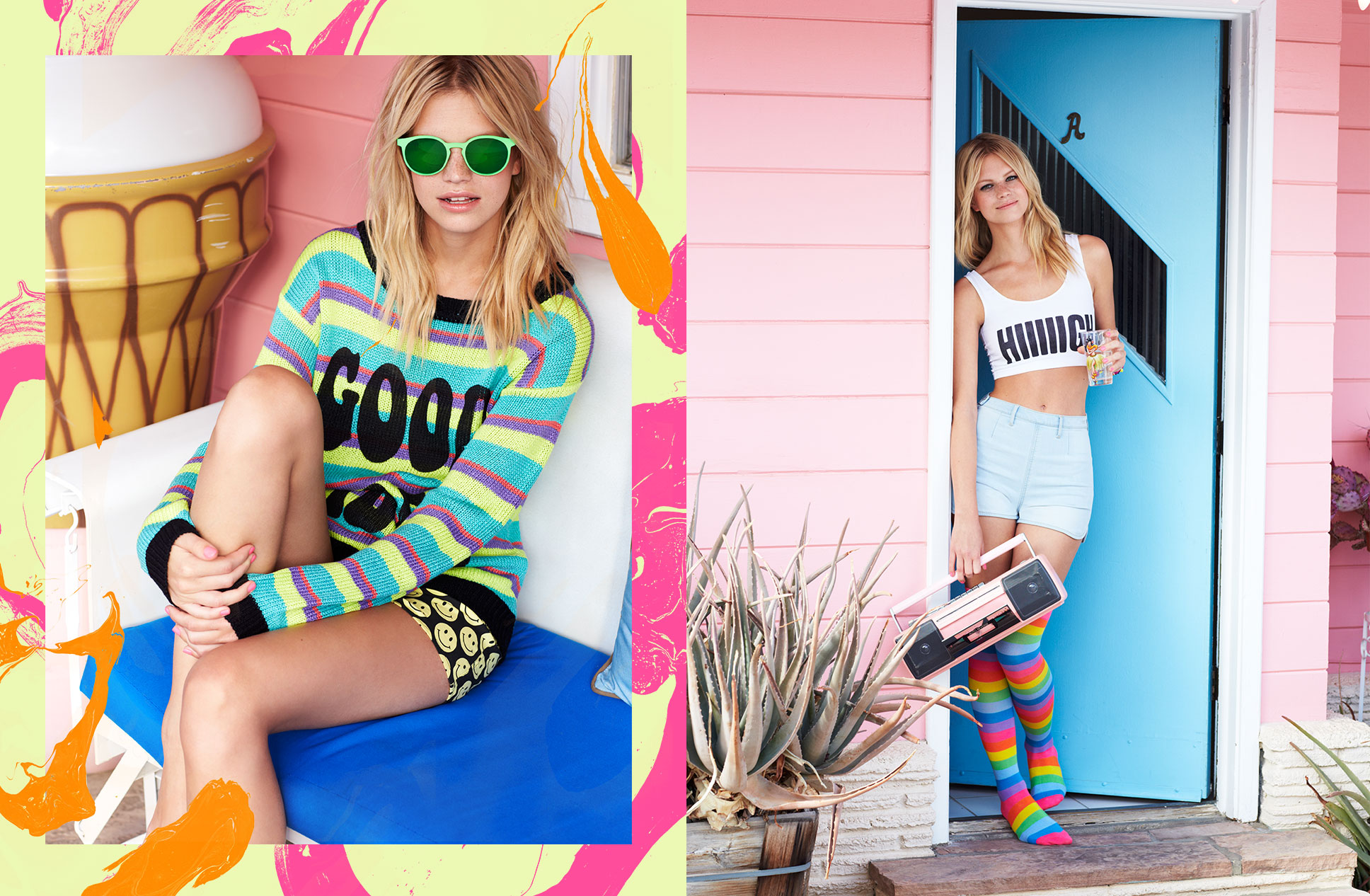 Nasty Gal Festival Lookbook 2014