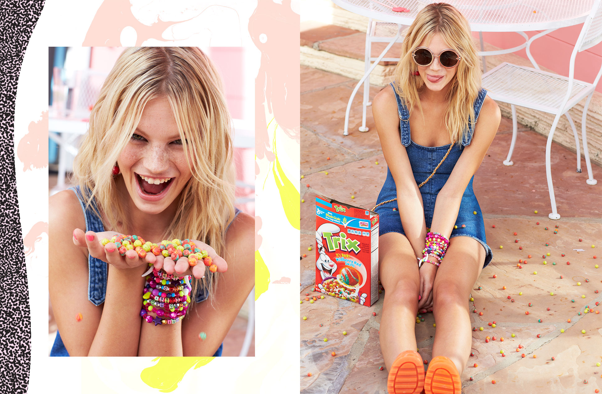 Nadine Leopold for Nasty Gal festival lookbook