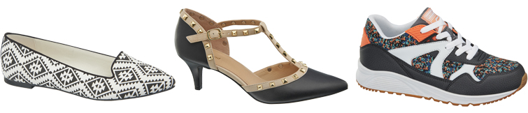 Caroline Blomst collection for Deichmann shoes