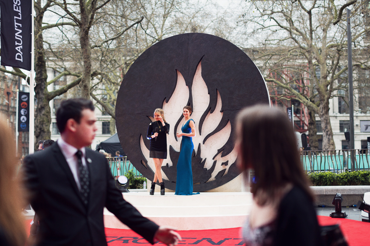 Divergent premiere London