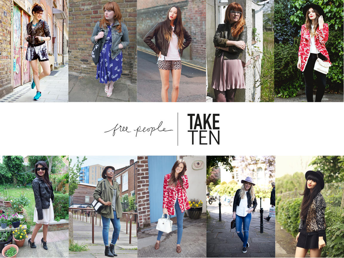 Take 10 X Free People