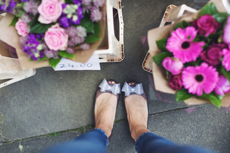 Girl in the Lens | Vivienne Westwood jelly flats