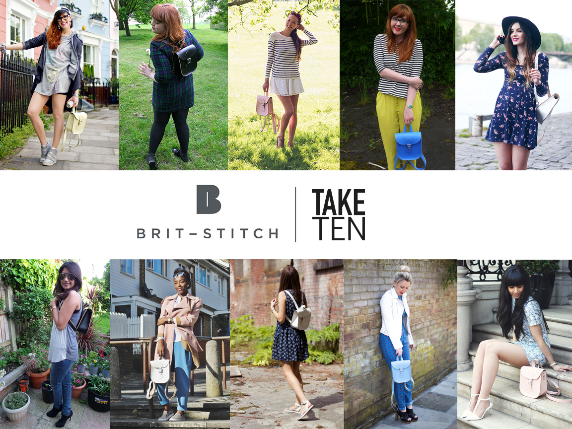 Take 10 fashion bloggers X Brit-stitch